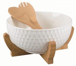 Посуда на бамбуке